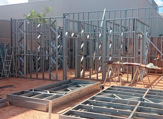 Steel Frame permite obras rápidas e sustentáveis